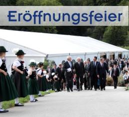 Eröffnungsfeier München, Ingolstadt, Rosenheim, Landshut, Passau, Straubing, Regensburg, Augsburg, Kempten